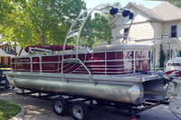 F250 Universal Pontoon Boat Wakeboard Tower