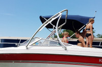 All Aerial wakeboard towers are easy to install and instantly allow friends and family to enjoy watersports