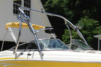 The classic, original style matches well with most any boat style