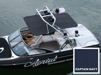 Captain navy canopy for FreeRide wakeboard towers by Aerial.