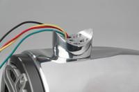 Single FreeRide Tower LED Speakers - Polished Aluminum