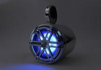 "Aerial Blunt Speaker 7.7"" Pod - Includes JL Audio Blue LED MX770-CCX-SG-CLD-B"