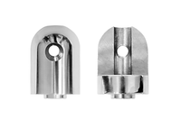 Front and Back View of Replacement Through Hole Joint for Wakeboard Towers  (2012 or Newer)
