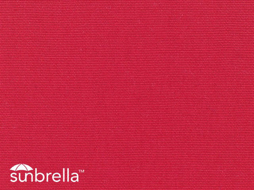 Replacement Canvas Sunbrella Jockey Red for Aerial Eclipse Wakeboard Tower Bimini