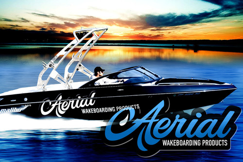 FreeRide Wakeboard Tower by Aerial | A Premium Aftermarket Wake Tower for Boats