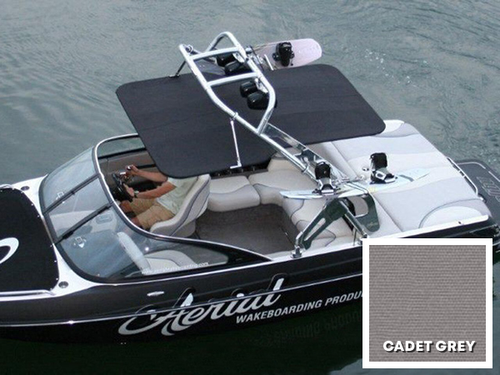 FreeRide Wakeboard Tower Bimini - Sunbrella Cadet Grey
