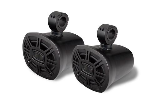 Single 6x9 Blunt Speakers - Black