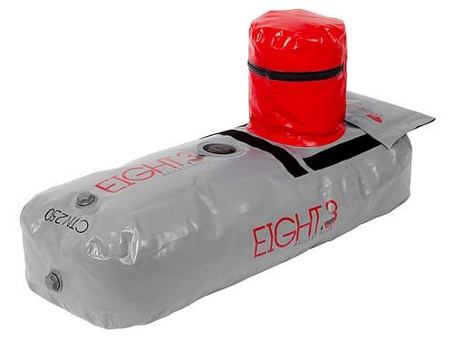 Ronix Eight.3 Telescope Locker/Seat Ballast Tube Sac 250lb Silver