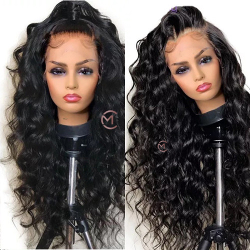 loose wave lace front wig with HD lace