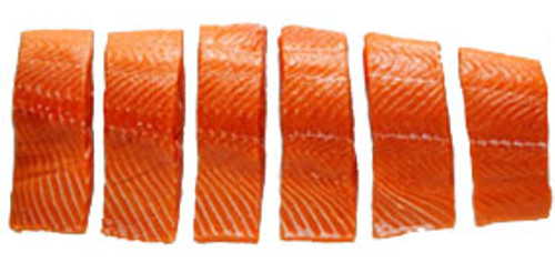 Coho Salmon - 4 oz - Package of 12 - Frozen at Sea