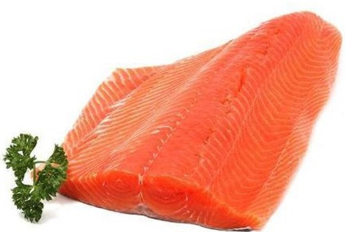 King Salmon - 1 lb Fillet - Package of 1 - Frozen at Sea