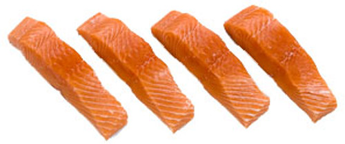 King Salmon - 4 oz - Package of 12 - Frozen at Sea