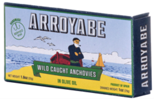 Anchovy Fillets - 1.76 oz - Package of 10