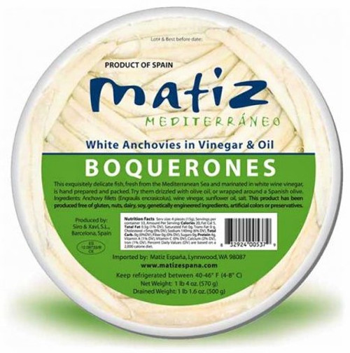 Boquerones Fillets - 20 oz - Package of 1