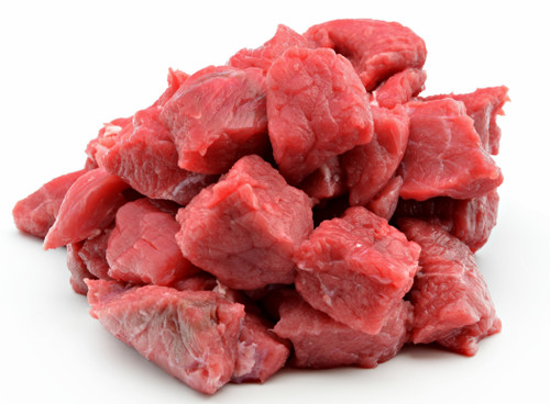 Venison Stew Meat - 5 lbs - Package of 2 - Frozen