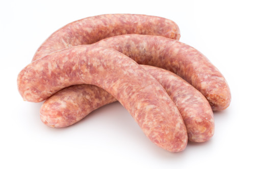 Rabbit Sausage With White Wine and Herbs - 3 oz - Package of 48 - Frozen