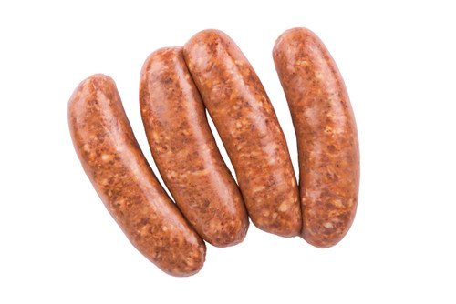 Alligator Sausage Smoked With Cajun Spices - 5.3 oz - Package of 36 - Frozen