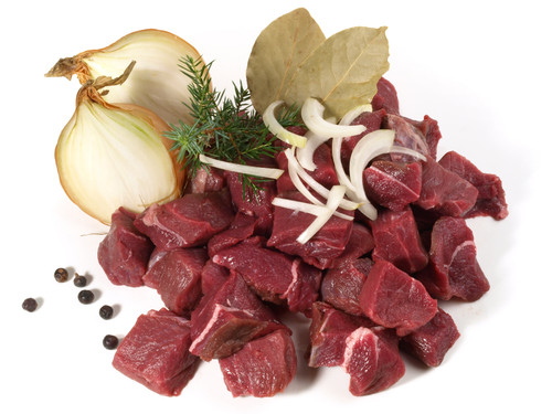 Wild Boar Stew Meat - 10 lbs - Package of 2 - Frozen