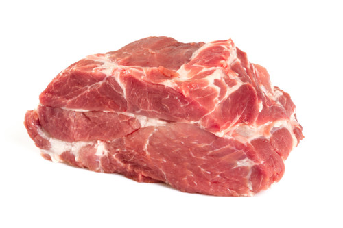 Wild Boar Neck - Boneless - avg. 2.5 lbs - Package of 8 - Frozen