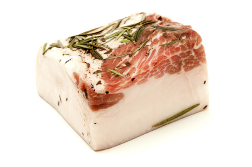 Iberico Back Fat (Tocino) - avg. 4 lbs - Package of 4 - Frozen