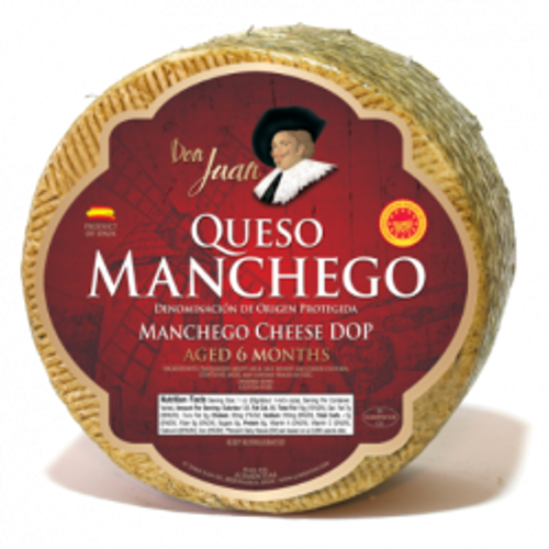 Manchego Corcuero D.O.P. - avg. 6 lbs - Package of 1