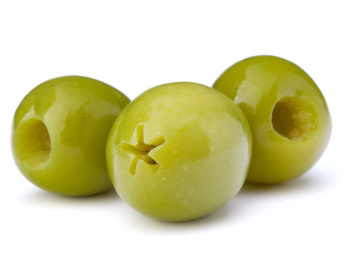Castelvetrano Green Olives - Pitted  - 10 lbs - Package of 1