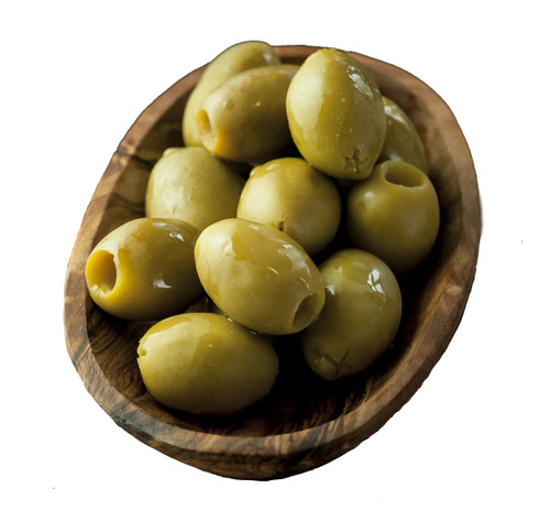 Rustichella Green Olives - Pitted - 5.5 lbs - Package of 1