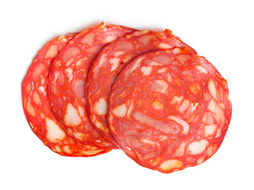 Hot Sopressata Pre-Sliced - 16 oz - Package of 1