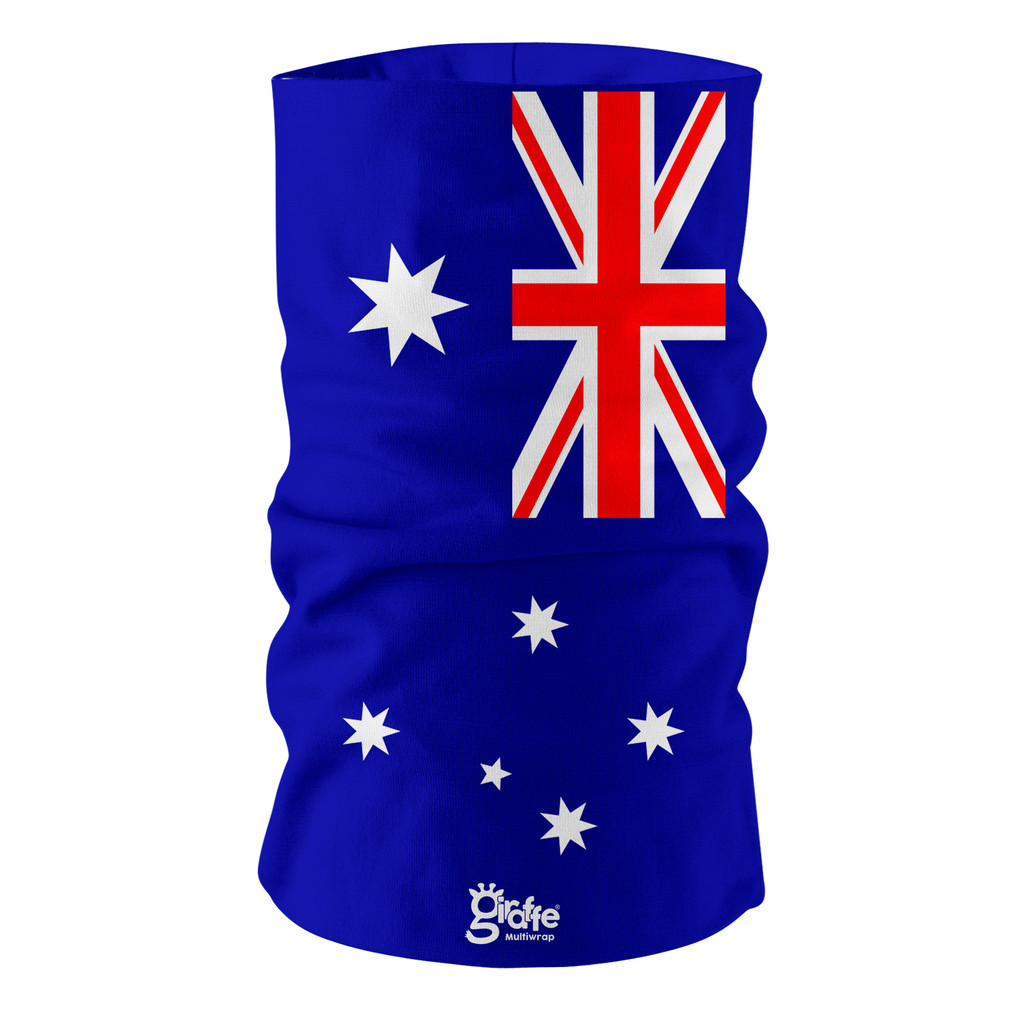 Australia National Flag Bandana Multi-functional Headwear Tube scarf