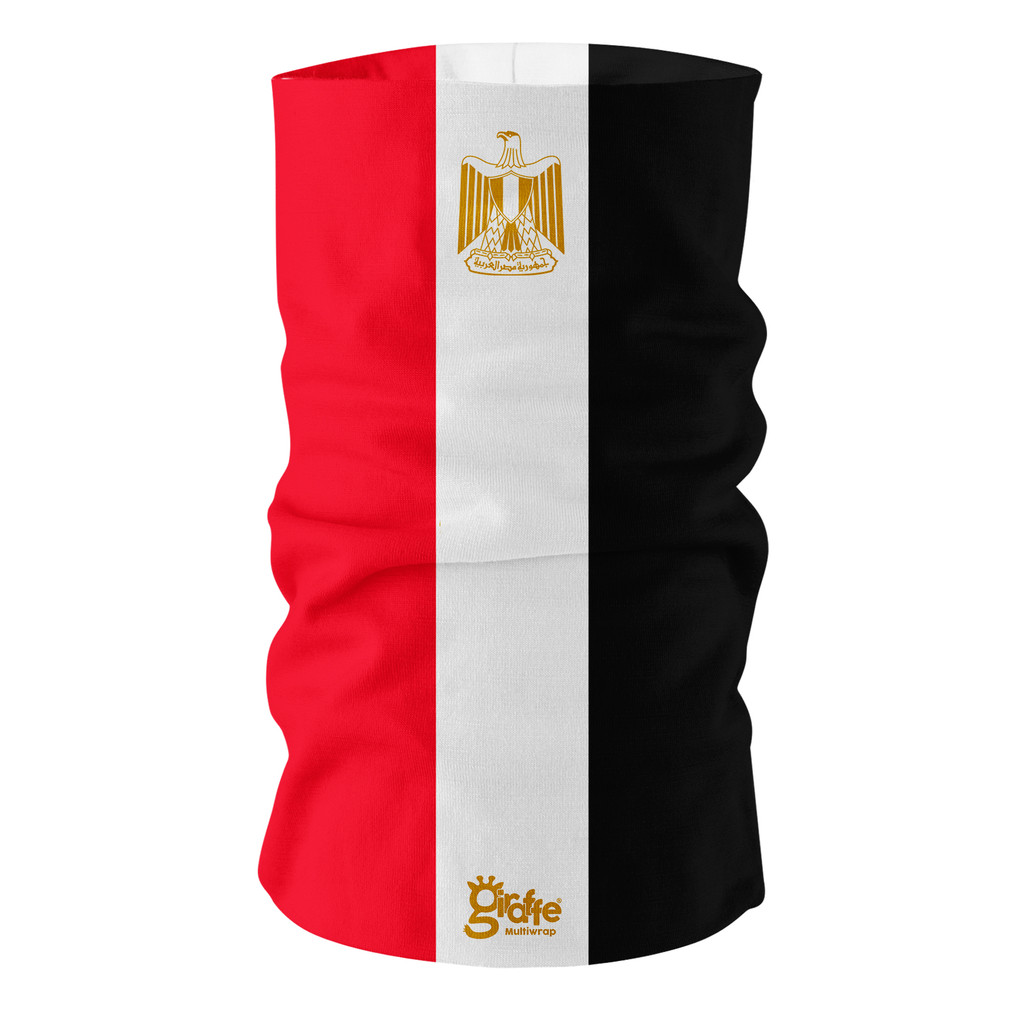 Egypt National Flag Bandana Multi-functional Headwear Tube scarf
