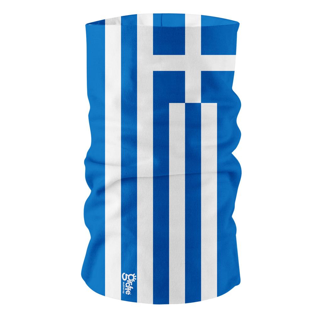 Greece Greek National Flag Bandana Multi-functional Headwear Tube scarf