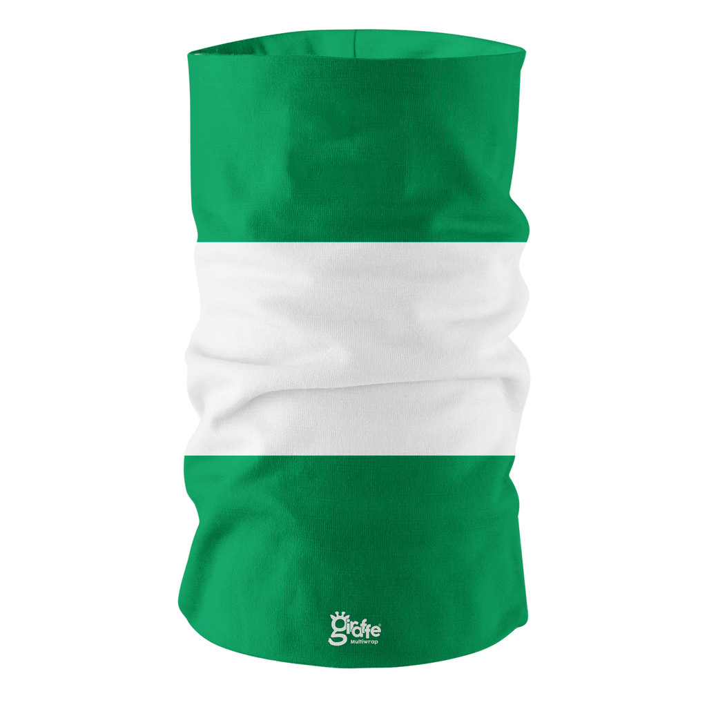 Nigeria Nigerian National Flag Bandana Multi-functional Headgear Tube scarf