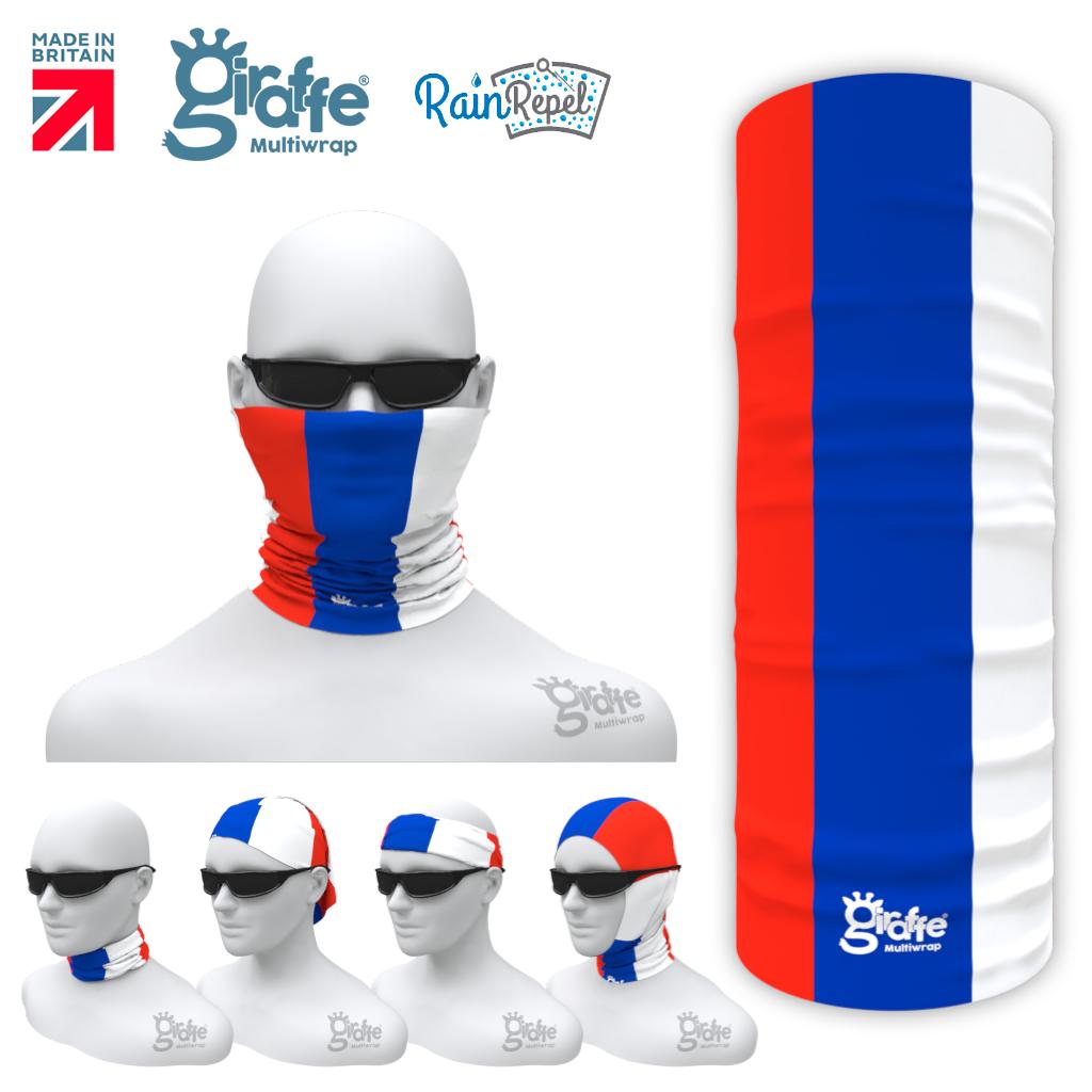 Russia Russian National Flag Bandana Multi-functional Headgear Tube scarf