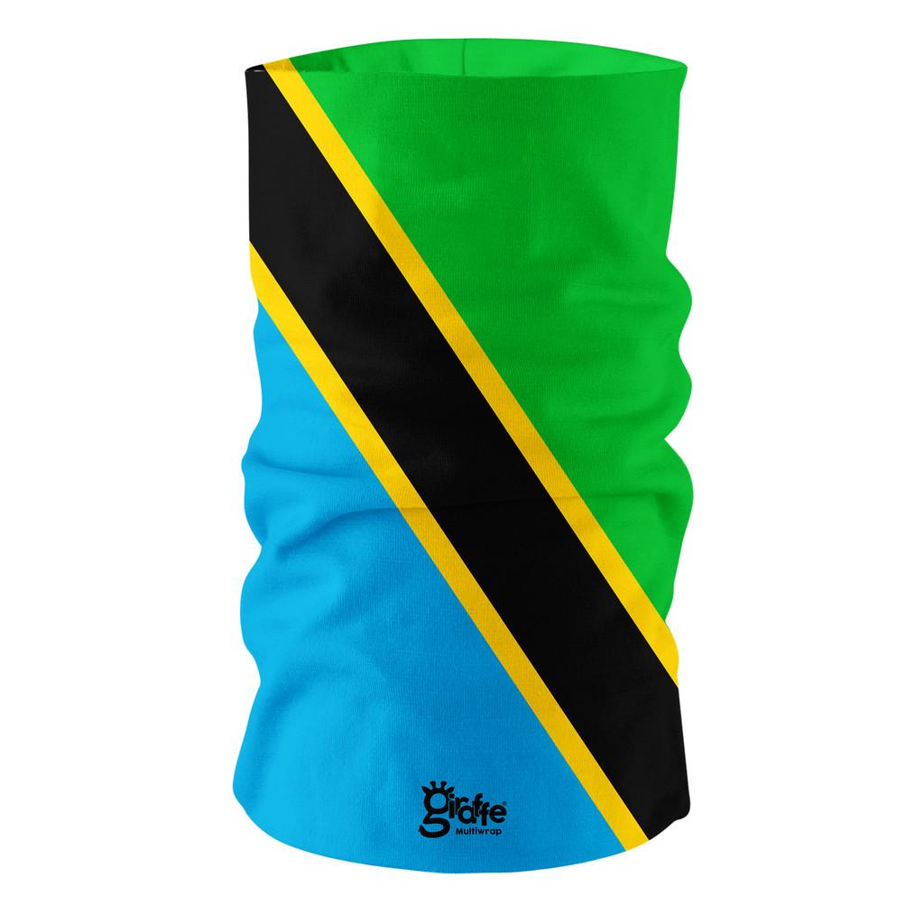 Tanzania National Flag Bandana Multi-functional Headgear Tube scarf