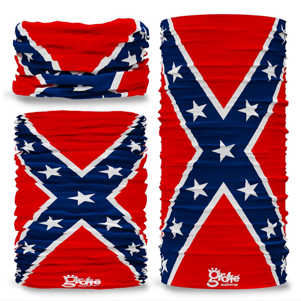 G-710 USA Original 1863 America States flag Seamless Tube Bandana Snood Multifunctional multiwrap Giraffe headwear
