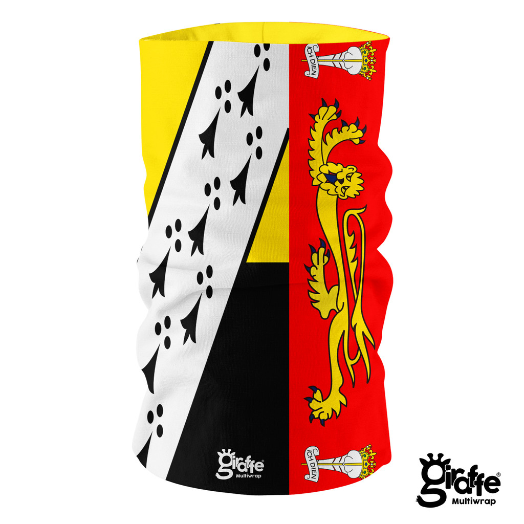 Norfolk County Flag Full Bandana Multi-functional Headgear Tube scarf G-713