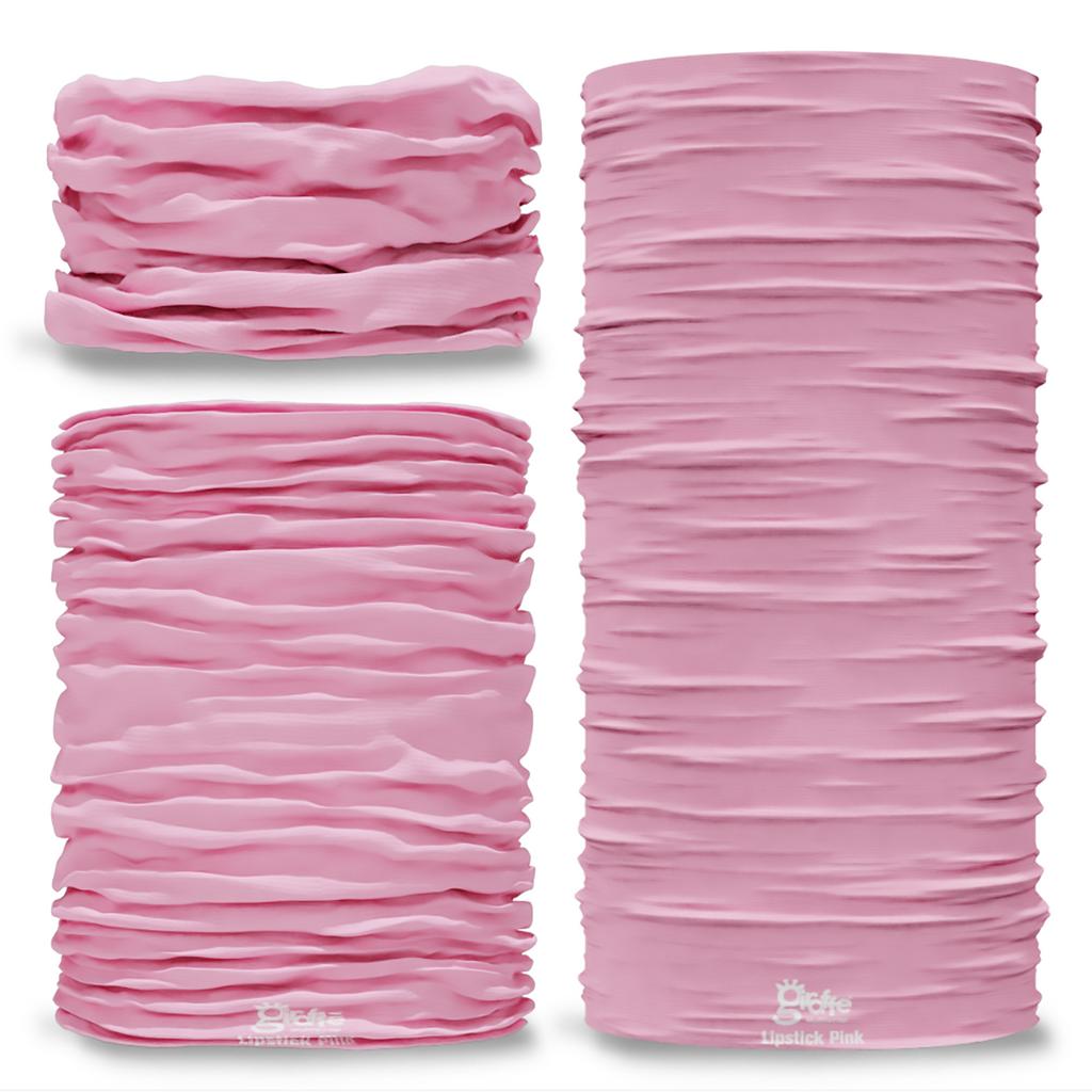 G-715 Lipstick Pink Pantone Seamless Tube Bandana Snood Multifunctional multiwrap Giraffe headwear