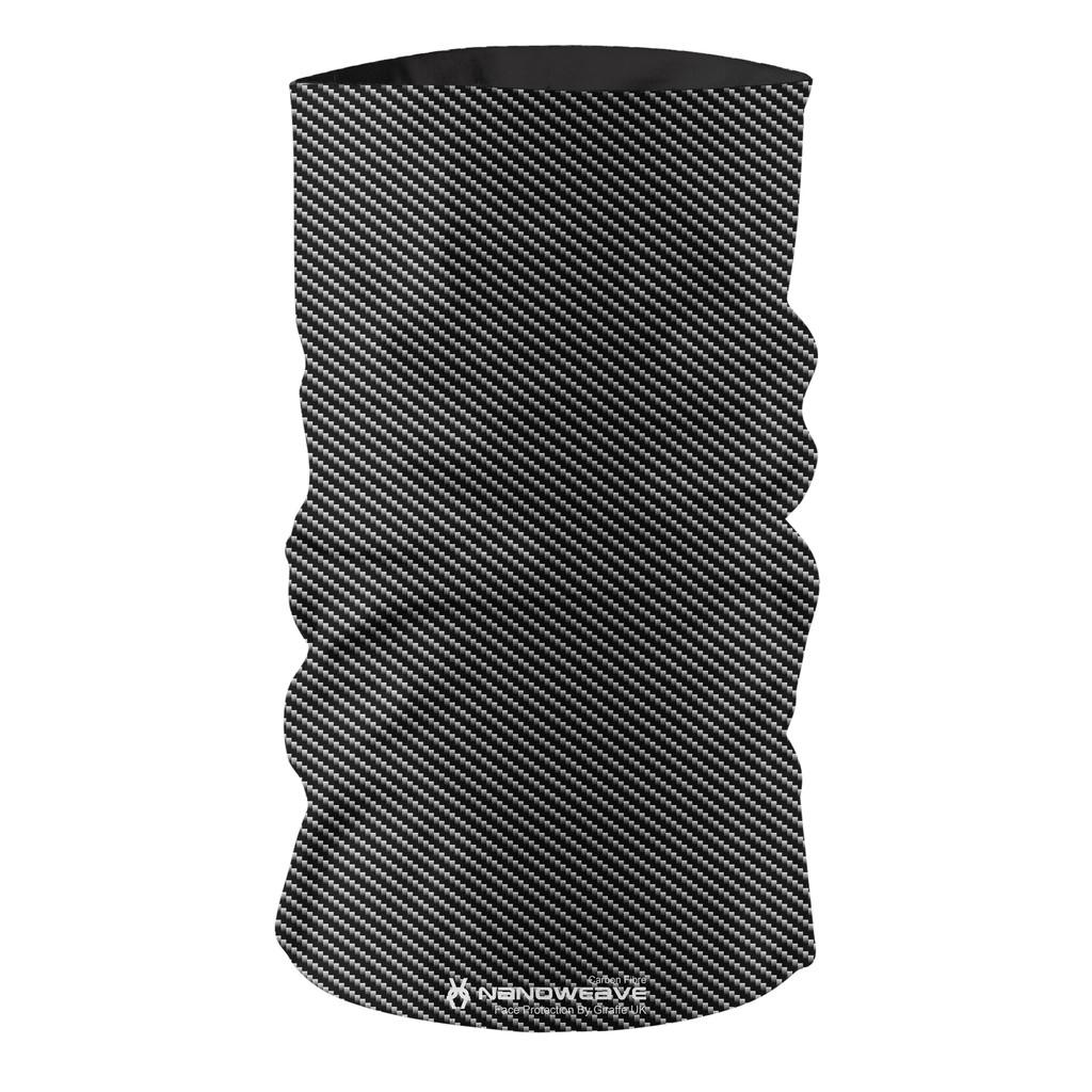 Nano Weave Carbon Fibre Multi-functional face protection. Seamless Tube Bandana