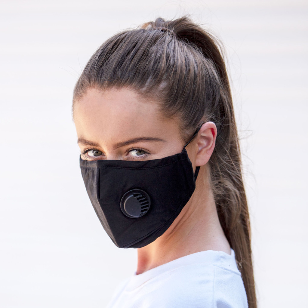 Kids/Ladies Small Comfort Fashion Fabric Face Mask with filter. Washable and resuable face protection.