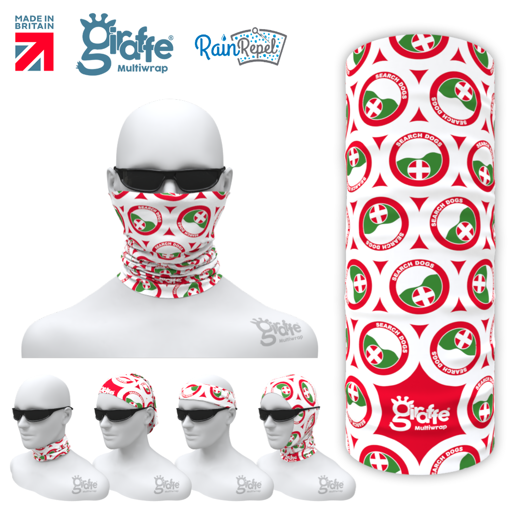 Lowland Rescue Bandana Face Protection Cover Multi-functional Headgear Tube scarf  Design 1