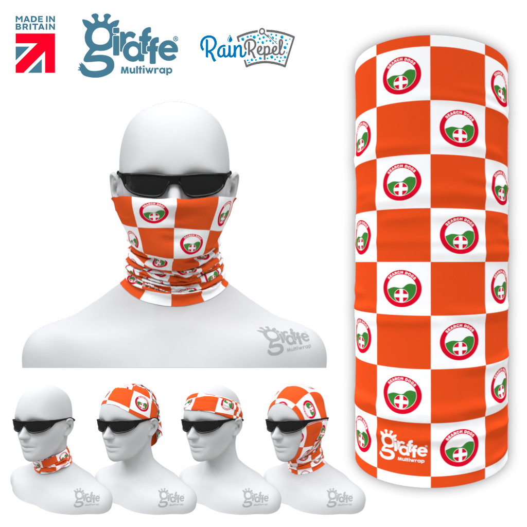 Lowland Rescue Bandana Face Protection Cover Multi-functional Headgear Tube scarf  Design 5