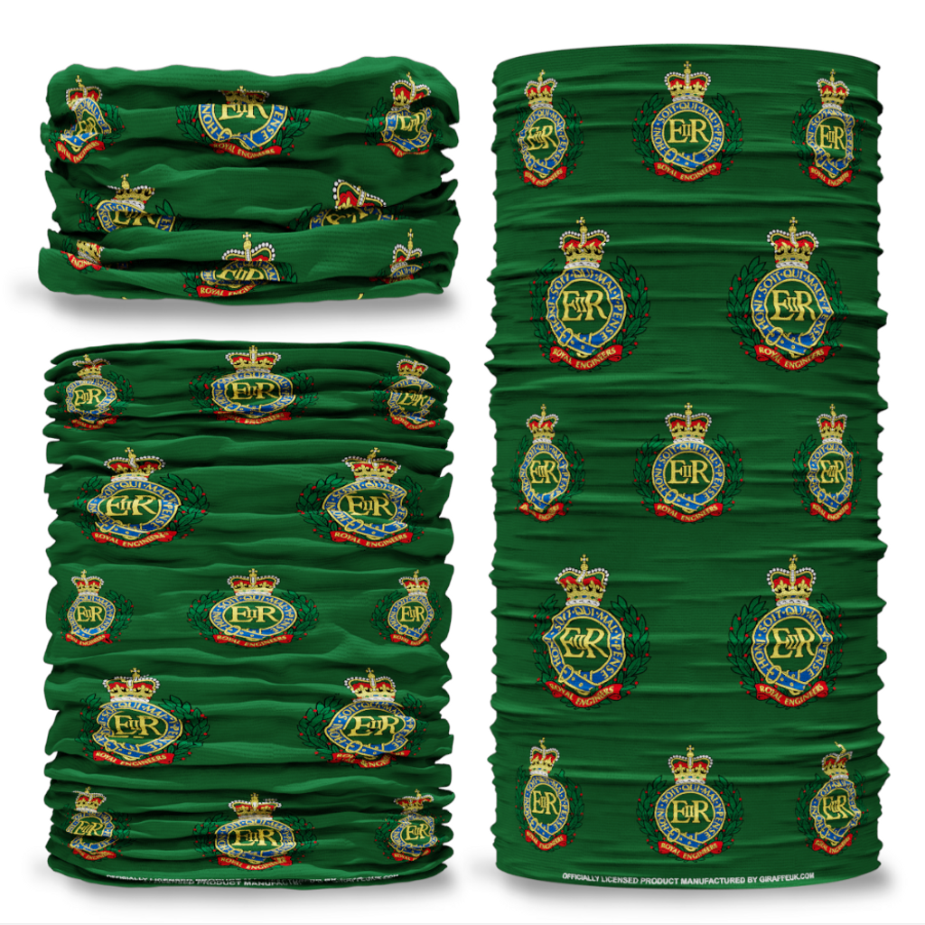 MOD Royal Engineers British Army  Green Multifunctional bandana headwear multiwrap snood