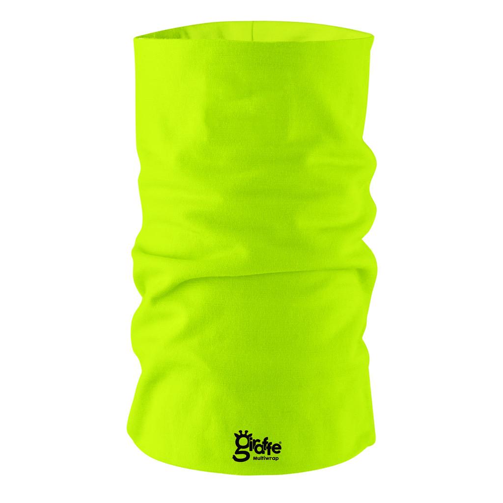 Fluro Neon Plain GF24 Multi-functional bandana headwear multiwrap snood