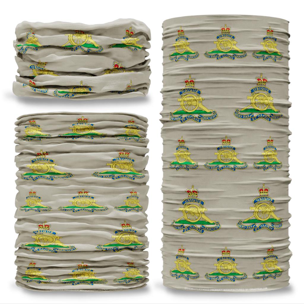 MOD Royal Artillery British Army stone Multifunctional bandana headwear multiwrap snood
