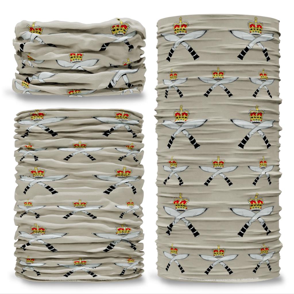 MOD Royal Gurkha Rifles Stone British Army  Multi-functional bandana headwear multiwrap snood