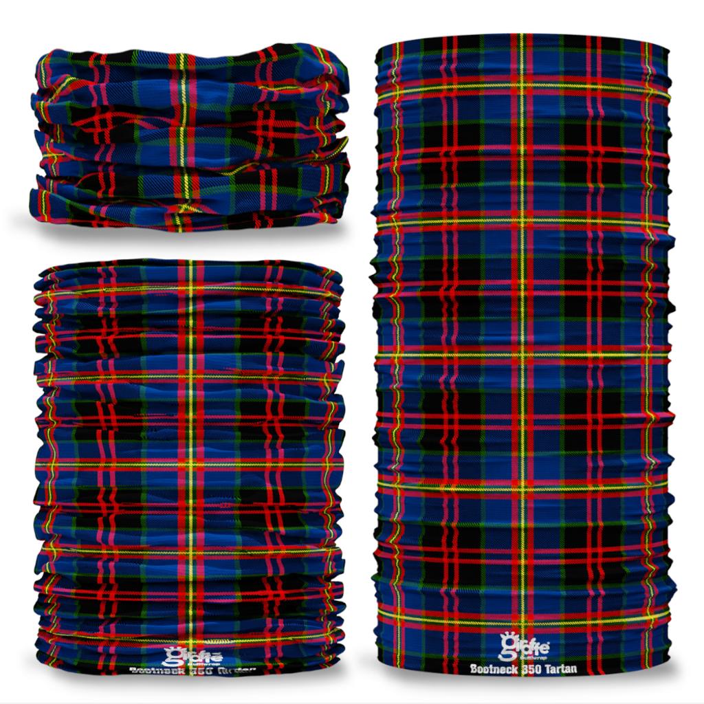 Bootneck 350 Tartan Seamless Tube Bandana Snood Multifunctional multiwrap Giraffe headwear