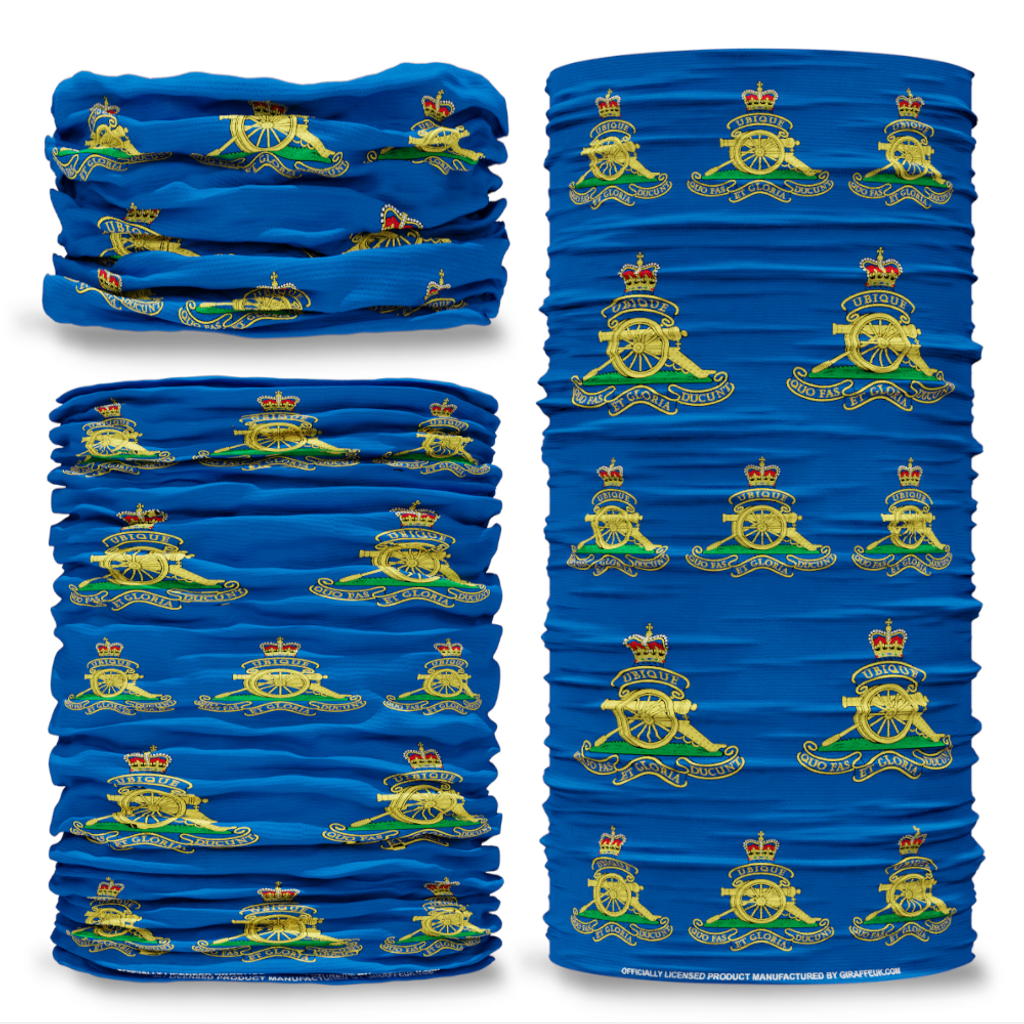MOD Royal Artillery British Army blue Multifunctional bandana headwear multiwrap snood