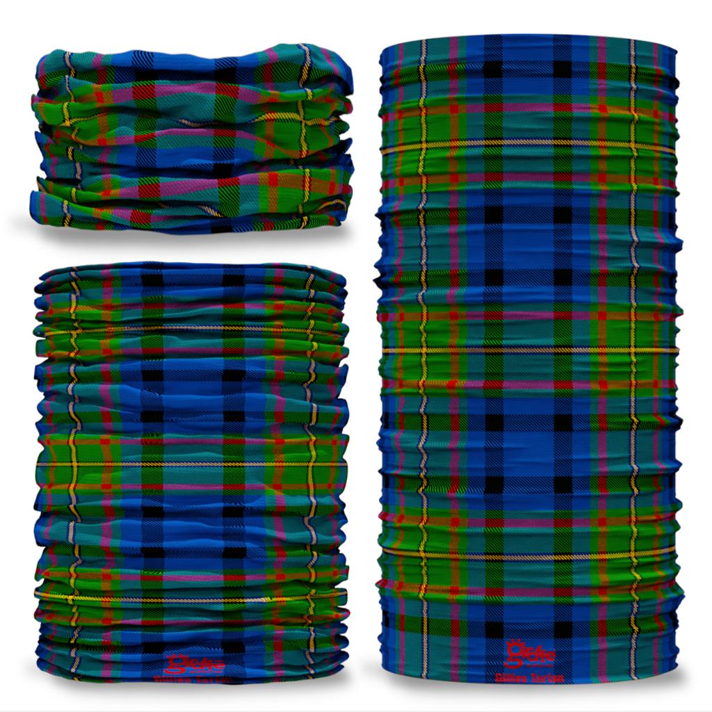 Gillies Tartan Scottish Scotland Seamless Tube Bandana Snood Multifunctional multiwrap Giraffe headwear