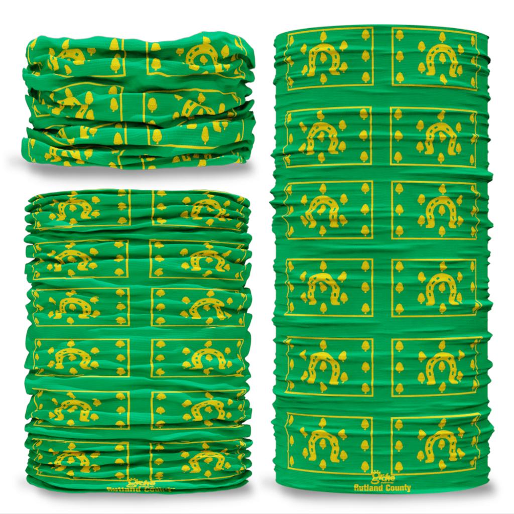 Rutland County Flag Tube Bandana Snood Multifunctional multiwrap Giraffe headwear