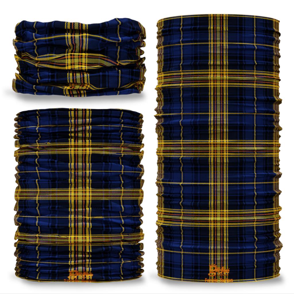 Fernie Tartan Scottish Clan Seamless Tube Bandana Snood Multifunctional multiwrap Giraffe headwear